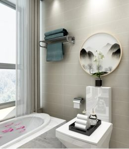 Take care of the bathroom after moving to a rented apartment