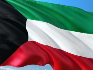 Kuwait flag.