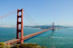 California - Golden Gate Bridge.