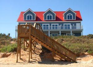 A beach house in Florida