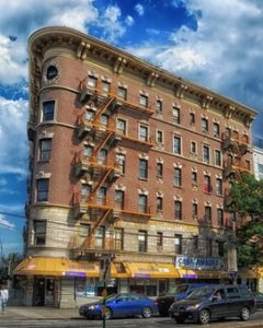Building in the Bronx