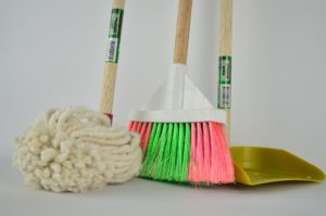 brooms and mops are among common things people forget while moving