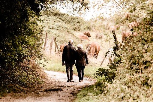 Retired couple.