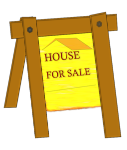"a "" house for sale"" sign which tends to stay in the front yard for long when it comes to real estate market in Dallas"
