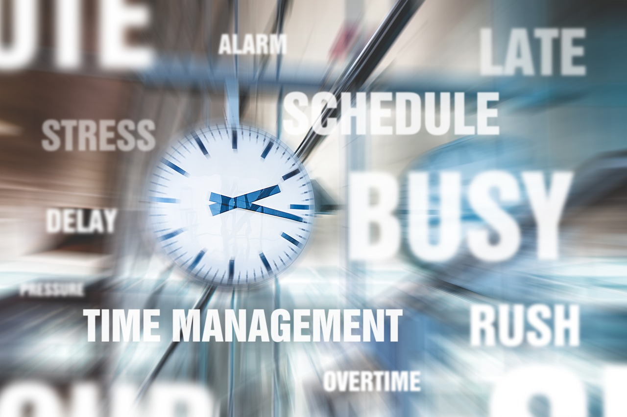The clock - When handling short notice relocation time everything.