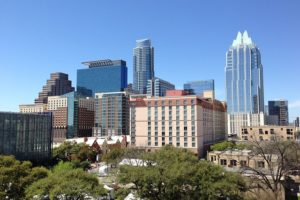 A view of the City of Austin a person living in Texas as an expat frequently uses.