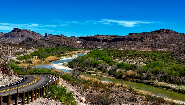A view of the Rio Grande.