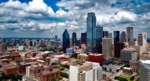 A view of Dallas.