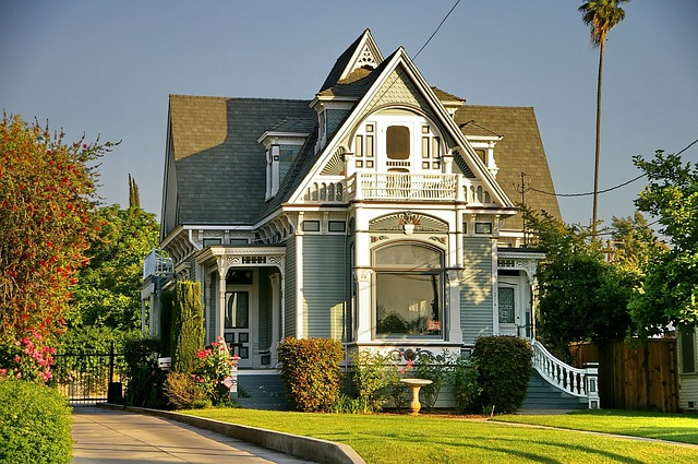 A house in the Victorian style as one among numerous types of homes in Massachusetts.