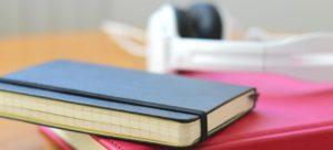 A notebook.