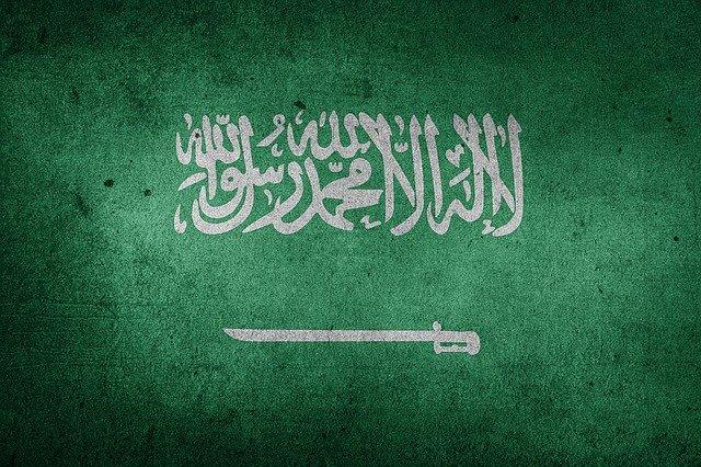 Saudi Arabia flag.