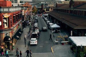 Market in Ottawa.