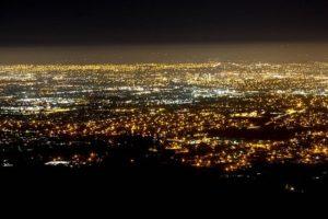 San Jose Night Skyline