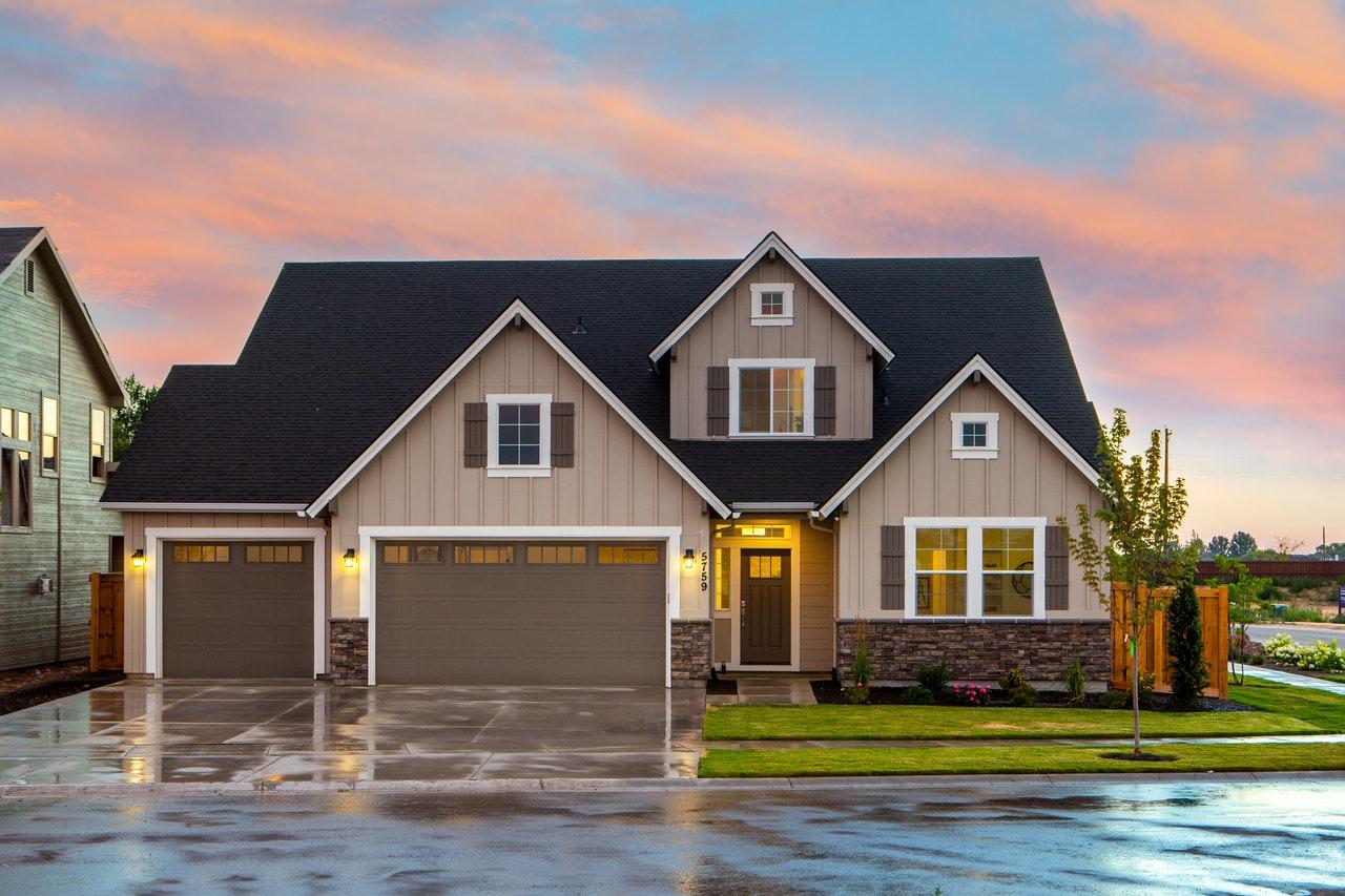 a single family house in Burlington