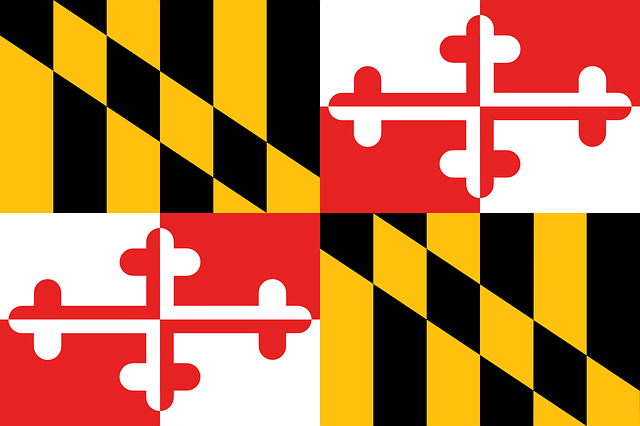 Maryland flag.