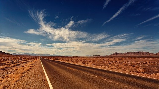 A road toward buying a rural home in Nevada.