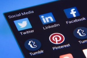 Social media apps.