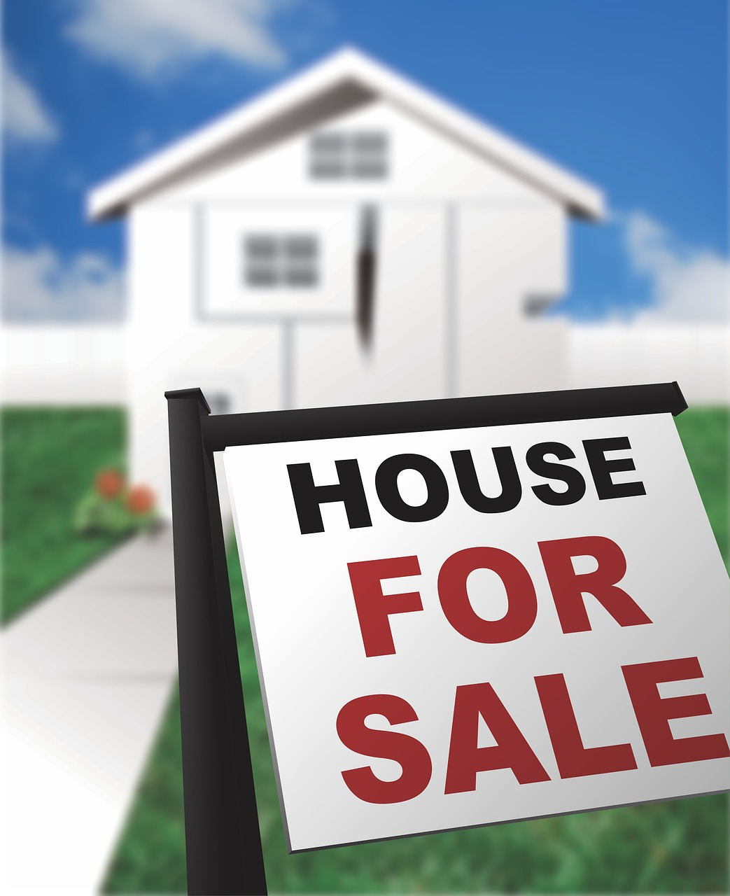 House for a sale sign - When is the right time to sell your home?