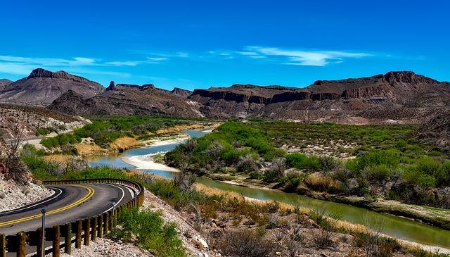 A view of the Rio Grande.