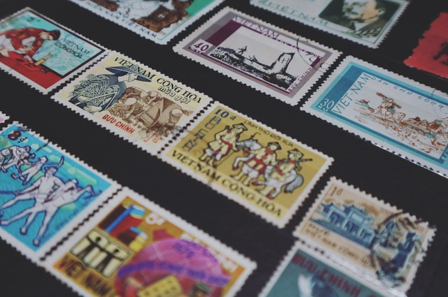 Store collectibles safely like these stamps..