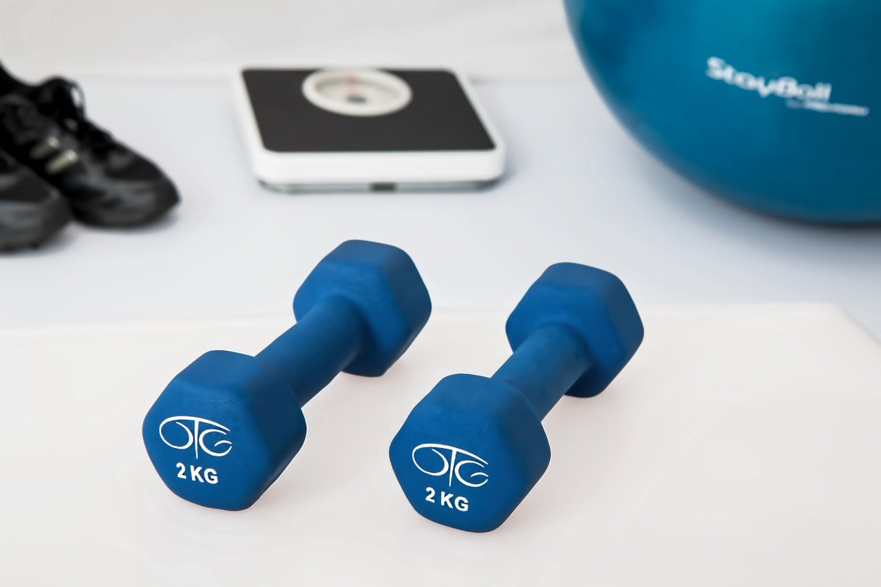 Fitness equipment.