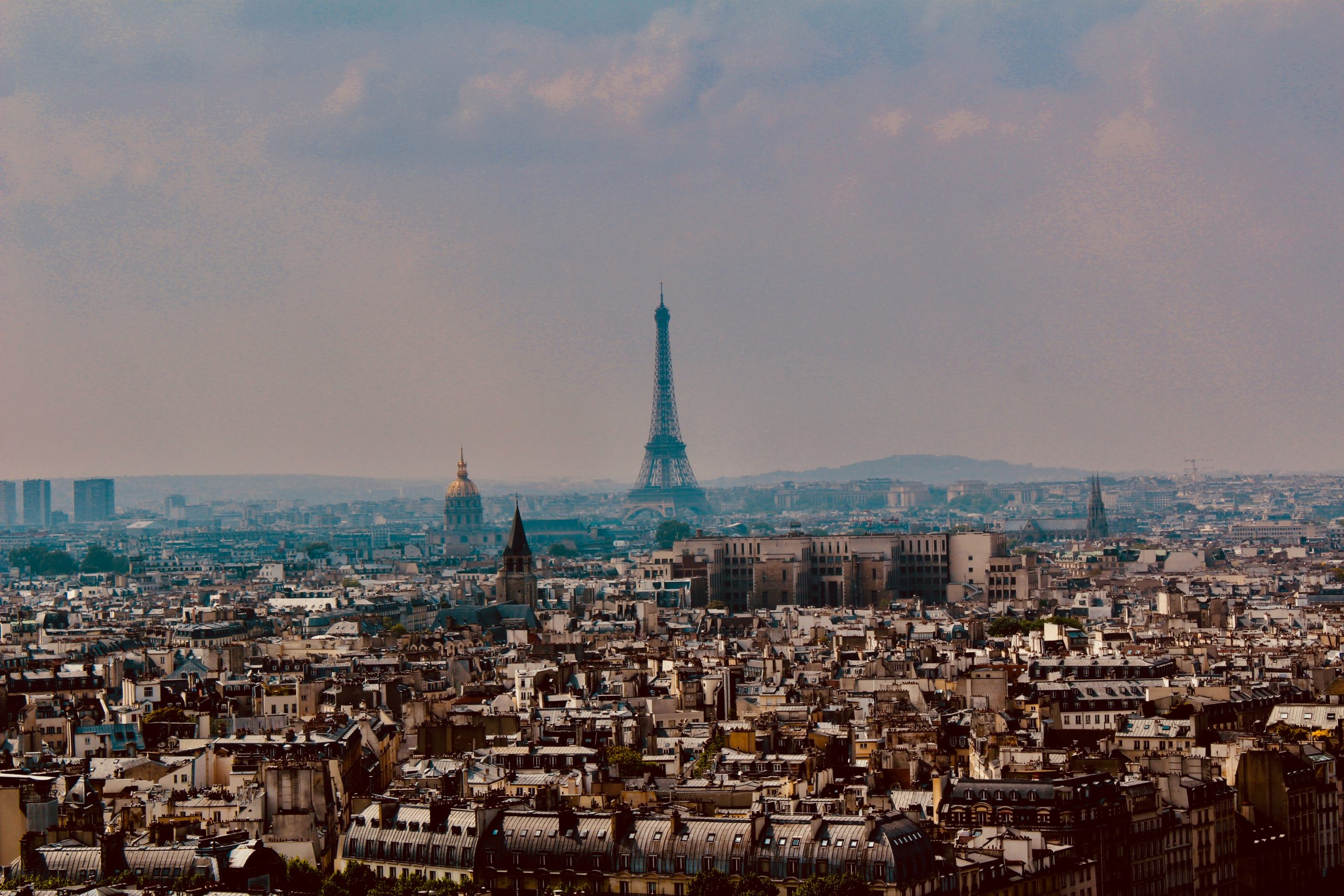 Buying an apartment in Paris in the center.