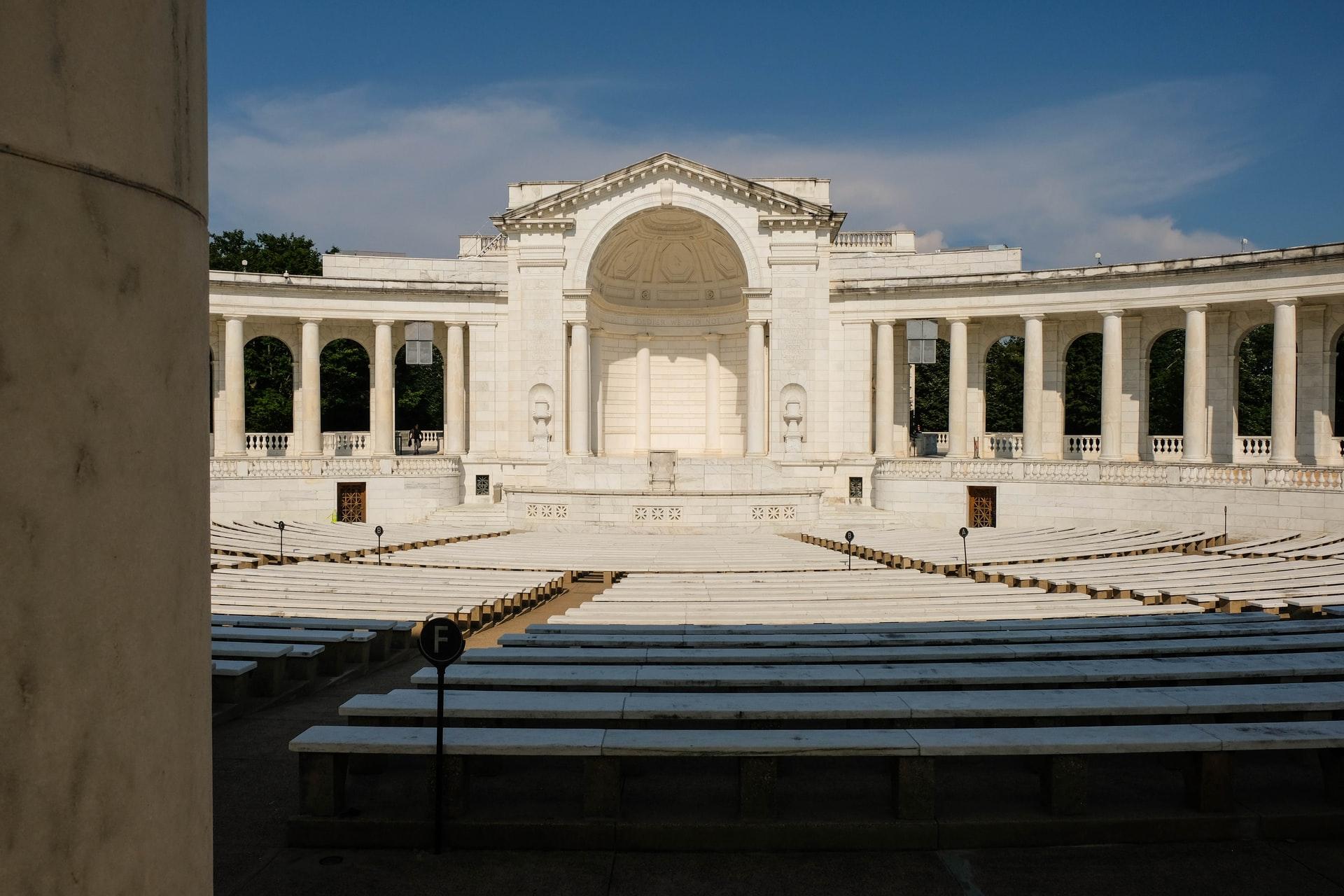 The Arlington National Cemetery.